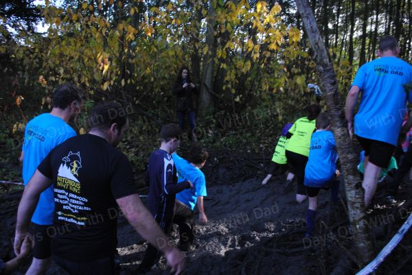 Days out with dad. Mud run 2012 026
